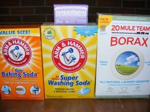 Powder laundry soap