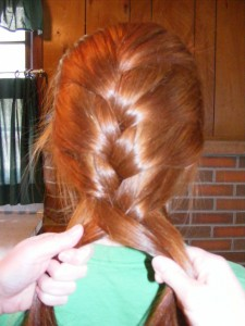 Beginning a Standard Braid