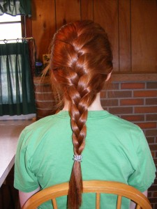 Finished French Braid