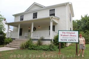 The Original Walton/Hamner Home