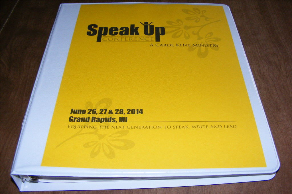10 Things I learned at the Speak Up Conference~ backtofamily.net