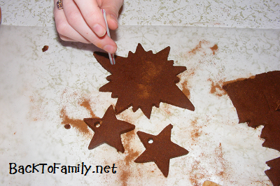 Cinnamon Ornaments 10~ BacktoFamily.net