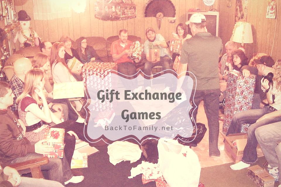Gift Exchange Games~BackToFamily.net